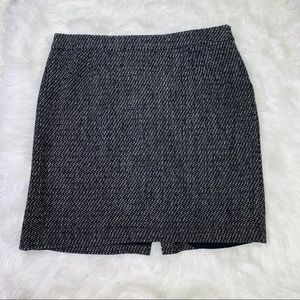 Jessica London Gray Fully Lined Wool Skirt - 20